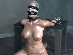 Horny Master Knows How To Penalize His Huge-chested Sub Expertly