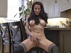 Trampy Faux Mummy Olivia Bell Rail Sausage Sweet Touching Step-son-in-law
