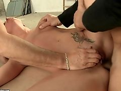 Andy Chocolate-colored - Mmf Anal Invasion With Her Boots On