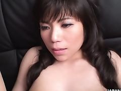 Horny Man Fucks Hairy Cooch Of Unexperienced Asian Chick In Ripped Pantyhose