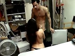 Beautiful Tiffany Tyler Goes Into The Back Room To Get Her Sizzling Hot Snatch Dicked Deep And Doggystyle