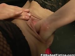 Crazy Adult Movie Stars Wendy Taylor, Faye Rampton In Exotic Fist Insertion, Faux-cocks/fucktoys Xxx Clip