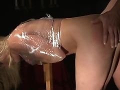 Blonde Harlot Caty Campbell Is Greedy For Jizz