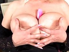 Big Titted Blonde Fucks And Gargles Her Fuck Stick.
