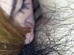 Japanese Honey Deepthroats Fat Hairy Dick In Closeup