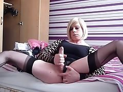 Horny Homemade Shemale Clip With Matures, Onanism Scenes