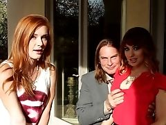 Red-haired Liv Aguilera Has Some Dirty Bang-out Fantasies To Be Fulfilled With Hard Cocked Fellow Evan Stone