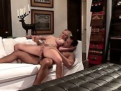 Lecherous Mummy Stormy Daniels Rails Dong And Takes Jizz On Her Tattooed Slit