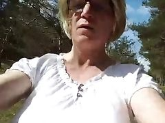 Bimbo Tits Blonde Whore In Too Lil' Sundress Shows Everything In Public As Humilated Feminized Male Loser 7