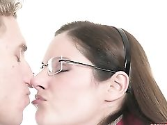 Brown-haired Chloe Foster Is Nosey About Oral Fuckfest With Hard Cocked Boy Michael Vegas