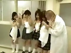 Alluring Japanese College Girls Putting Their Lovely Bods O