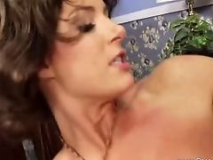 Seventies Ginger-haired Mom Rails Hard Man Rod Until It Sated