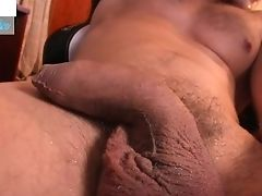 Dissolving Ice On My Fat Yummy Man Meat Lots Of Foreskin For You To Taste!