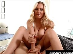 """""""step Mommy Julia Ann Wakes Up Step Sonny With Hand Jobs!"""""""