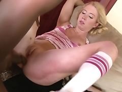 Teenager Nicki Blue Wants His Ram Cane To Fuck Her Fuck Crevasse Deep In Interracial Porno Act