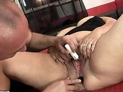 Matures Beauty With Massive Hooters Gets Jism Sopping After Fuck-a-thon With Horny Dude