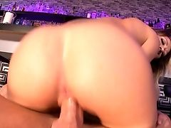 Blonde With Tasty Hooters And A Lucky Boy Love Oral Hump They Won't Briefly Leave Behind