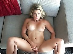 Provocative Cougar Cory Chase Exposes Her Tits And Gets Fuck Holes Fucked Hard