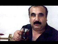 Turkish Grandpa Shows His Beautiful Cock And Balls